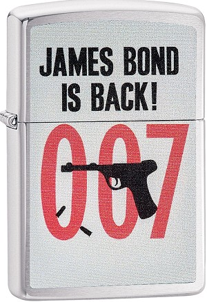 29563 - ZIPPO 007 James Bond is Back!