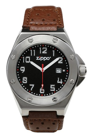 45009 - ZIPPO Black Face,Casual,Brown